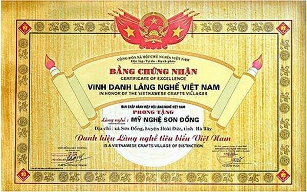 Giới thiệu Làng nghề Sơn Đồng chuyên làm Đồ thờ Tượng Phật