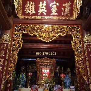 Mẫu cửa võng đền thờ