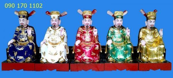 Tượng thờ Ngũ Vị Tôn Quan-2