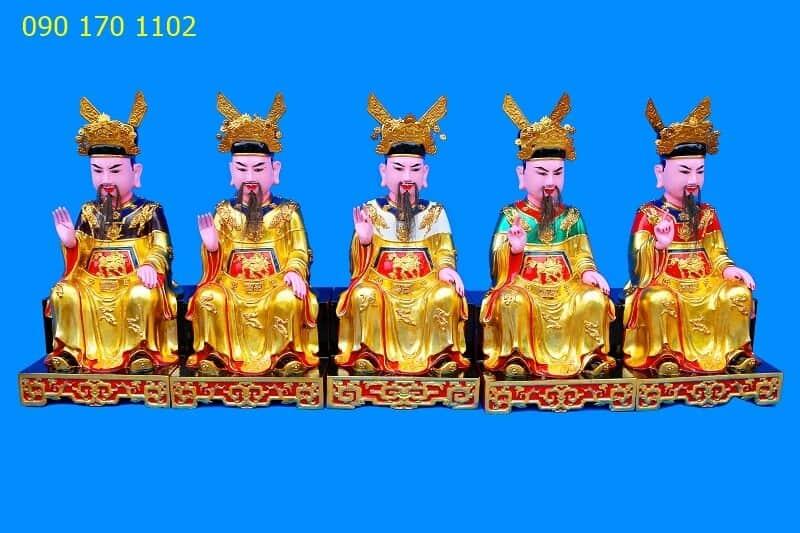 Tượng thờ Ngũ Vị Tôn Quan