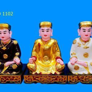 Tượng thờ quan Hoàng Bơ, Hoàng Bảy, Hoàng Mười
