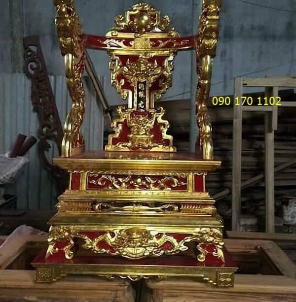 Ỷ thờ gia tiên sơn son thếp vàng