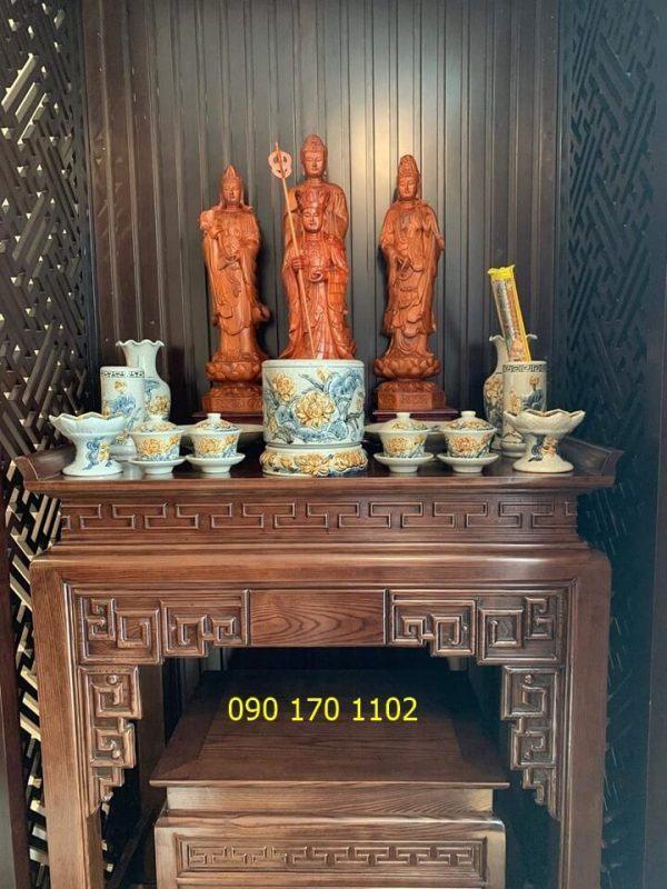 Bàn thờ Phật tại gia đẹp