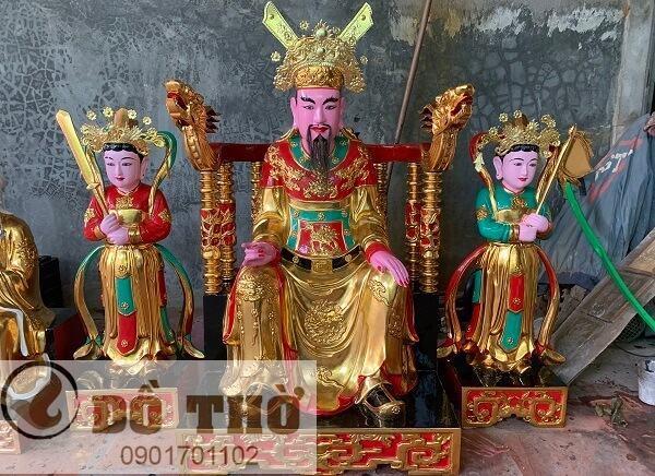Tượng Quan Trần Triều - Đức thánh Hưng Đạo Đại Vương-1