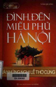 Đình, đền, miếu phủ Hà Nội và những nghi lễ thờ cúng