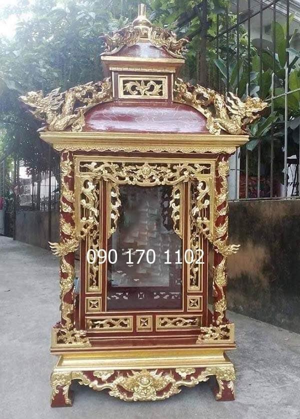 Khám thờ Long Đình, khám tượng Long Đình-1