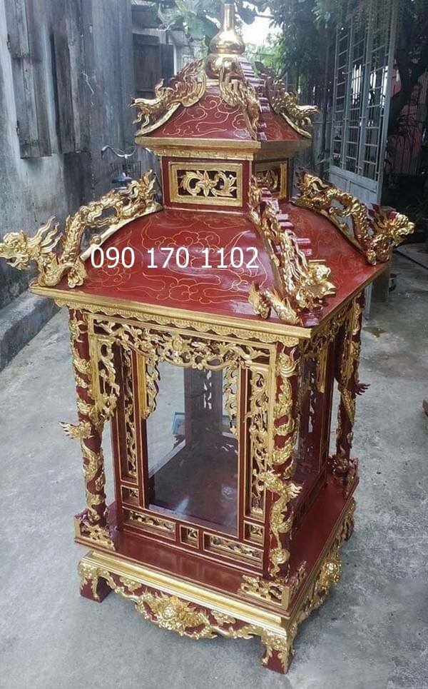 Khám thờ Long Đình, khám tượng Long Đình-2
