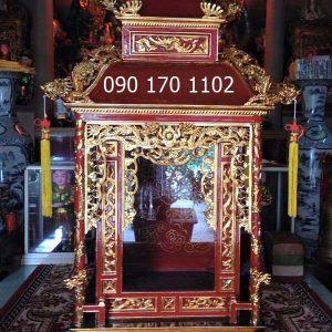 Khám thờ Long Đình, khám tượng Long Đình