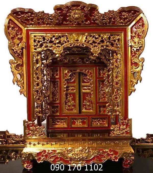 Khám thờ gia tiên, Khám thờ tượng, Khám thờ Mẫu đẹp