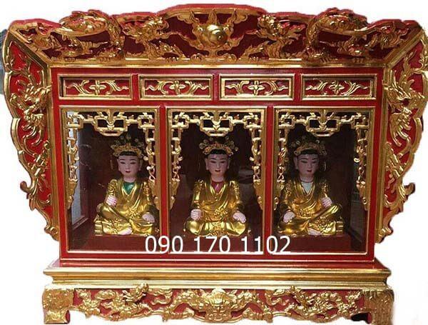 Khám thờ gia tiên, Khám thờ tượng, Khám thờ Mẫu đẹp-1