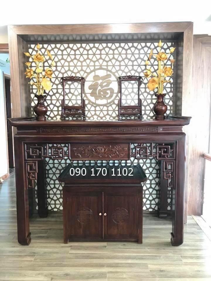 Mẫu bàn thờ chung cư số 02
