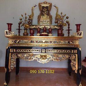Mua bàn thờ đẹp ở đâu tại Hà Nội?