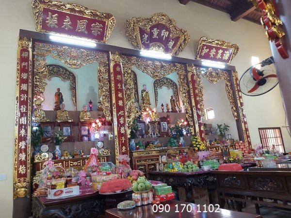 Ngôi tổ đường chùa Hoành Nha-1