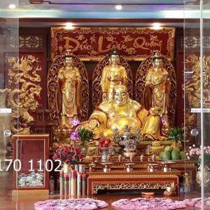 Bài trí không gian thờ Phật