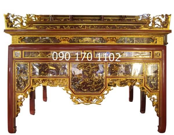 Mẫu bàn thờ ô xa Sơn Đồng đẹp-1