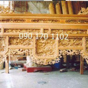 Mẫu bàn thờ ô xa Sơn Đồng đẹp-2