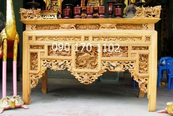 Mẫu bàn thờ ô xa Sơn Đồng đẹp-3