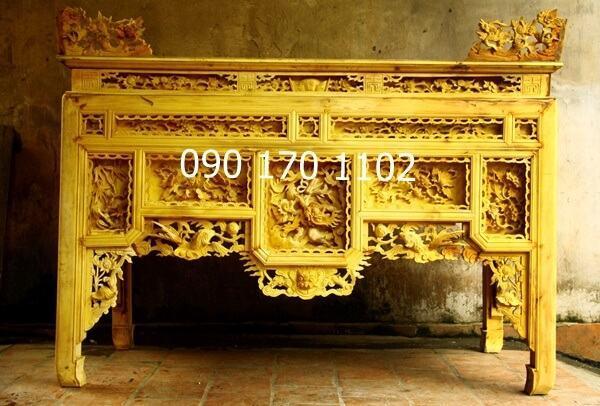 Mẫu bàn thờ ô xa Sơn Đồng đẹp-4