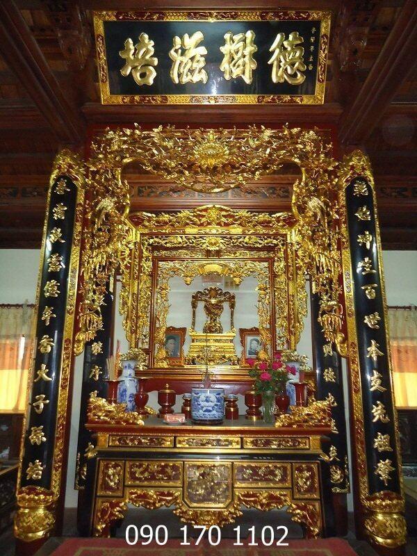Mẫu cửa võng thờ đẹp số 1