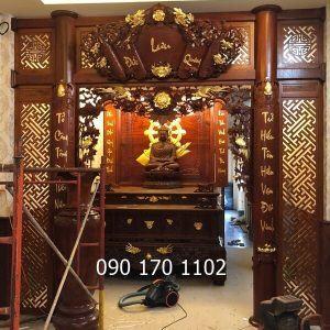 Thiết kế gian thờ Phật tại gia