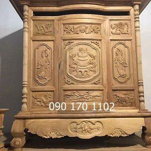 Tủ thờ gỗ dổi, gỗ mít