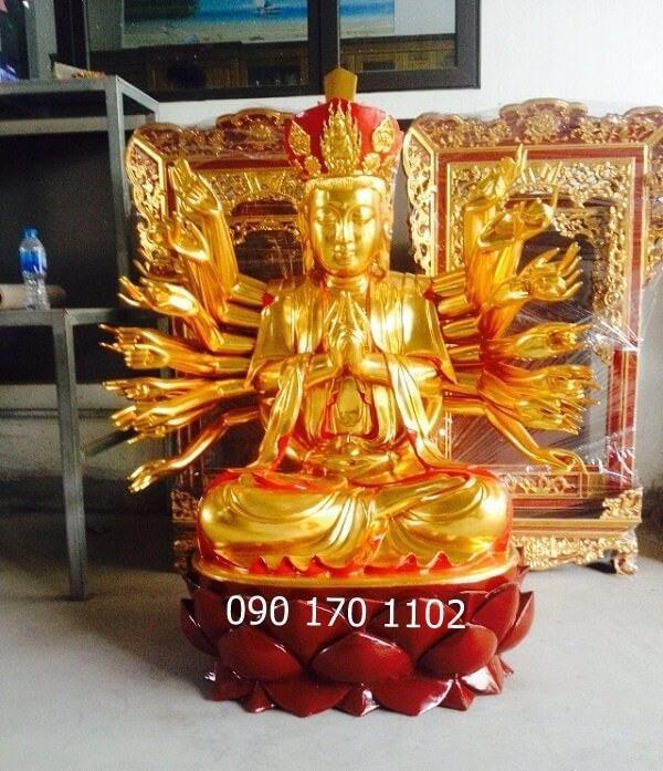 Tượng Phật bà Chuẩn Đề