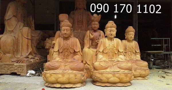 Tượng Phật Sơn Đồng - Tượng Phật gỗ đẹp - Đồ Thờ Cúng Tâm Linh