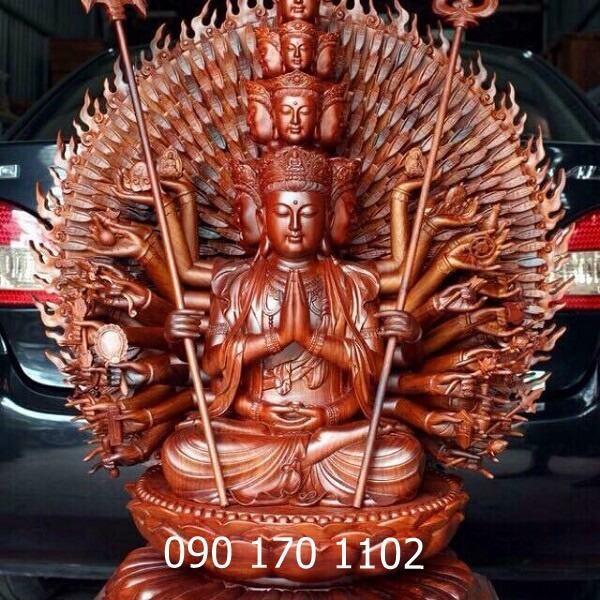 Tượng Phật thiên thủ thiên nhãn