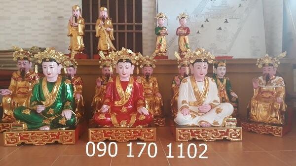 Tượng thờ Tứ Phủ, tượng thờ Sơn Đồng đẹp, có hồn