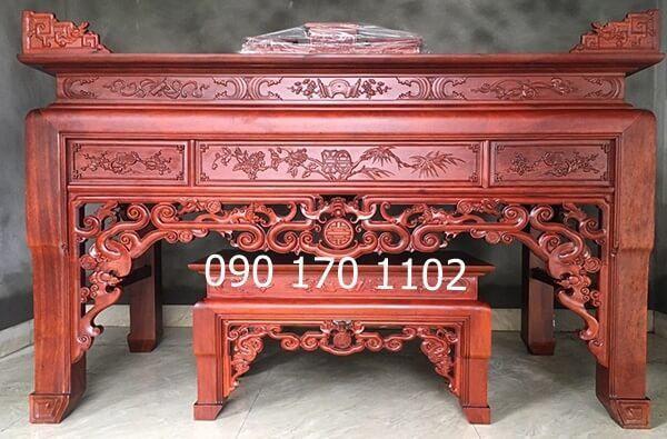 Mua bàn thờ gỗ gụ bền đẹp, giá tốt