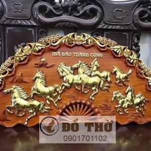 Quạt thờ Mã Đáo Thành Công gỗ hương