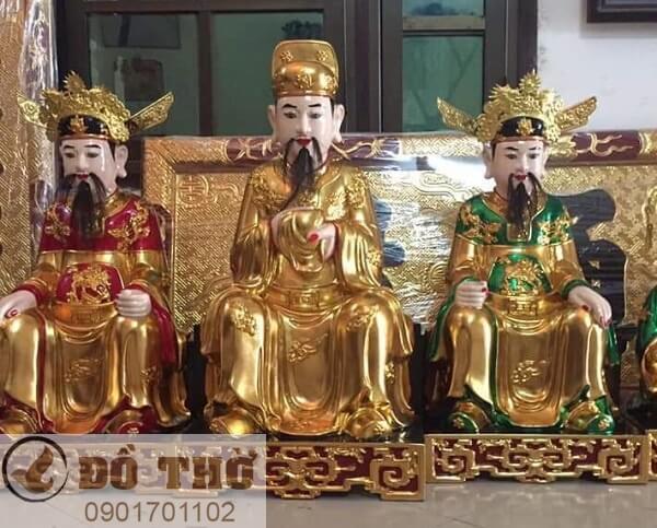 Tượng thờ Vua Cha Nam Tào Bắc Đẩu