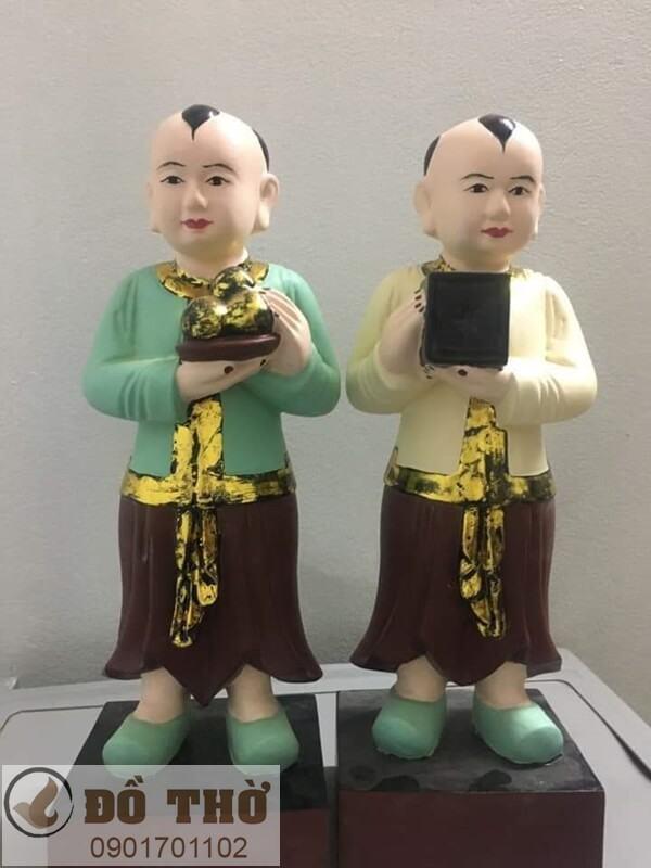 Mẫu tượng Cậu đẹp Sơn Đồng