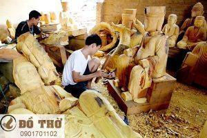 Cơ sở sản xuất Tượng Phật - Tam Bảo uy tín, chất lượng