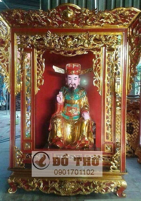 Khám thờ Quan Lớn sơn son thếp vàng