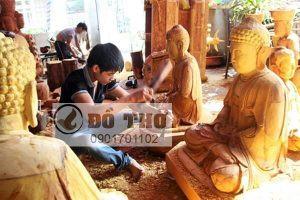 Tượng Phật, Hoành phi, Cuốn thư câu đối, Cửa võng thờ đẹp