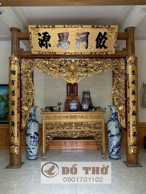 Đồ thờ đẹp cho phòng thờ, điện thờ, đền thờ, đình chùa