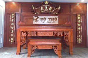Nên mua bàn thờ bằng gỗ gì?