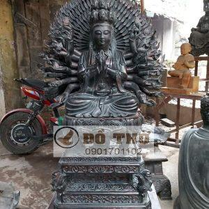 Tượng Phật bà Quan Âm nghìn mắt nghìn tay sơn giả cổ