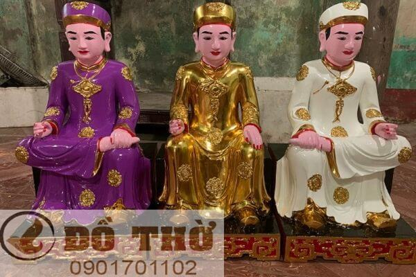 Tứ phủ Quan Hoàng, Tứ Phủ Thánh Hoàng, Thập vị Quan Hoàng