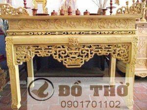 Ưu điểm của bàn thờ làm bằng gỗ mít