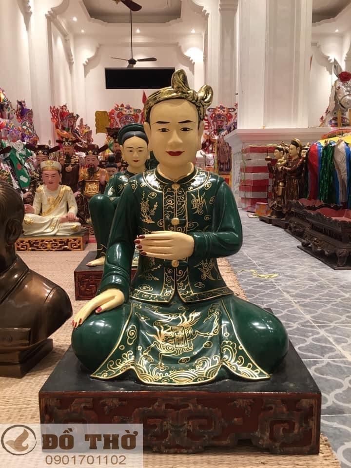 Làm mới tượng thờ, tượng Phật, sơn son thếp vàng-10