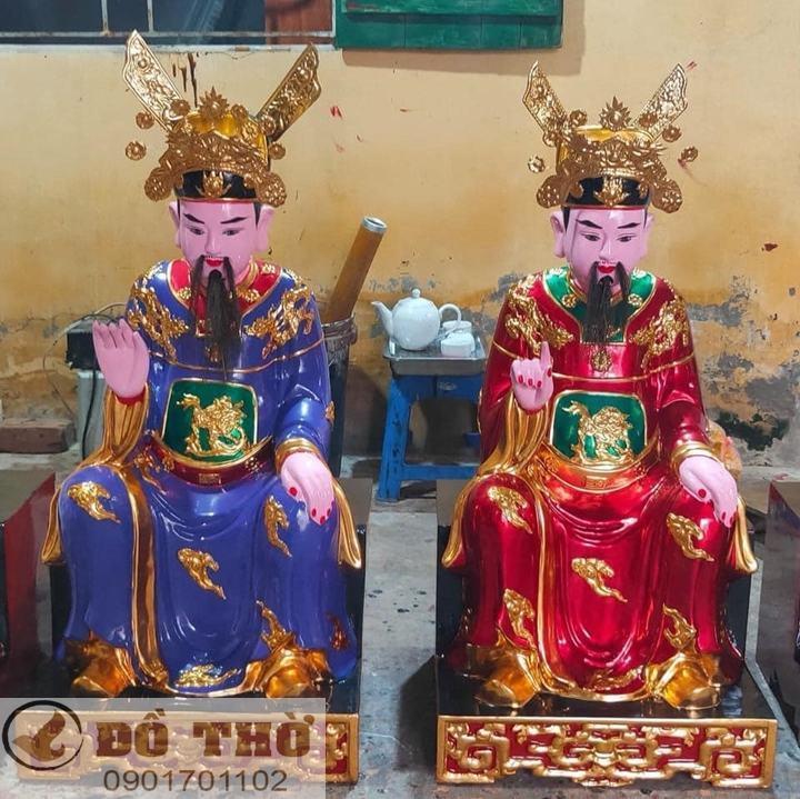 Làm mới tượng thờ, tượng Phật, sơn son thếp vàng-11