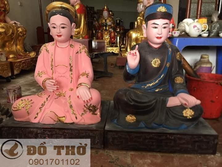 Làm mới tượng thờ, tượng Phật, sơn son thếp vàng-12