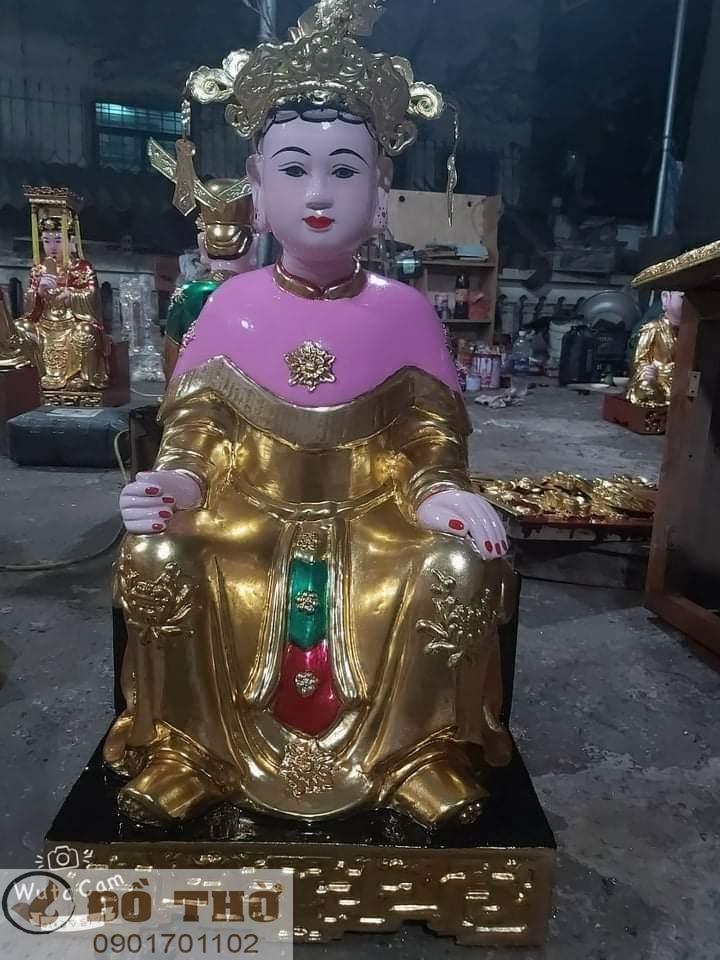 Làm mới tượng thờ, tượng Phật, sơn son thếp vàng-14