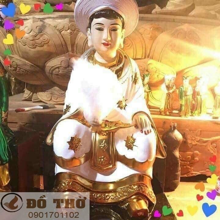 Làm mới tượng thờ, tượng Phật, sơn son thếp vàng-16