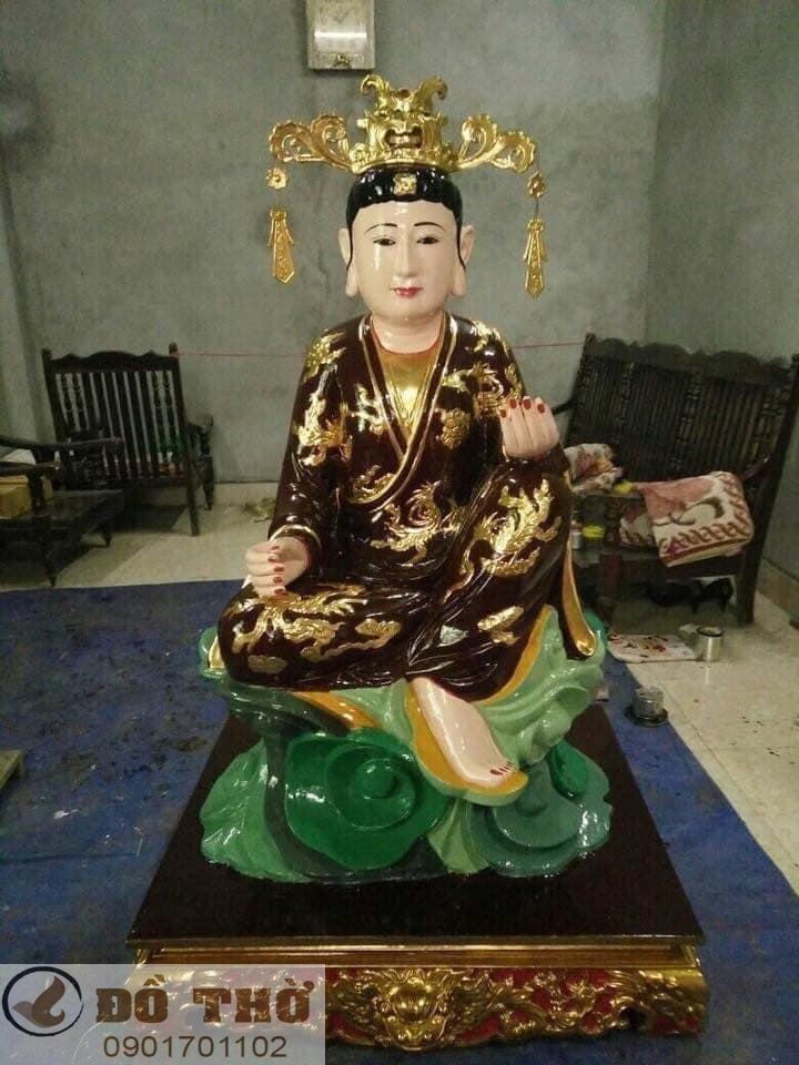 Làm mới tượng thờ, tượng Phật, sơn son thếp vàng-17
