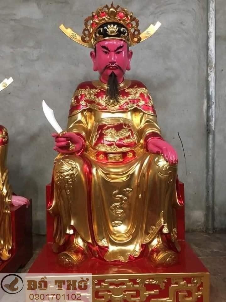 Làm mới tượng thờ, tượng Phật, sơn son thếp vàng-2
