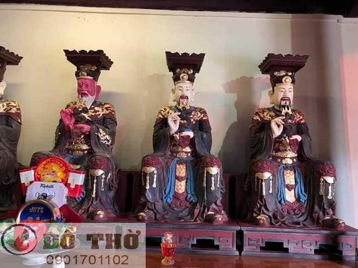 Làm mới tượng thờ, tượng Phật, sơn son thếp vàng-20