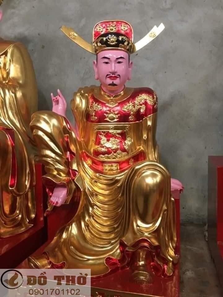 Làm mới tượng thờ, tượng Phật, sơn son thếp vàng-6